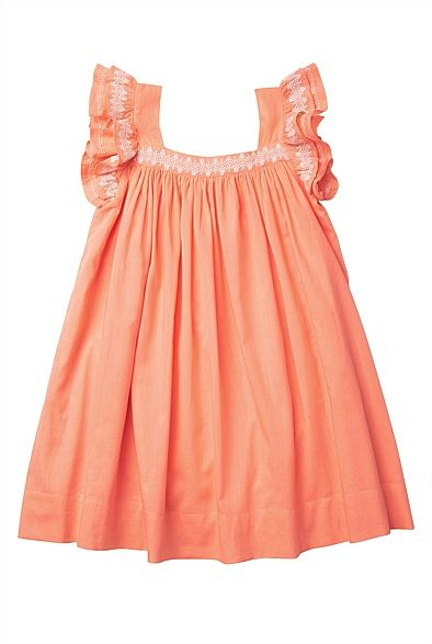 Embroided Ruffle Trim Dress for Aoife #witcherywishlist