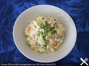 Russischer Salat, ein raffiniertes Rezept aus der Kategorie Eier & Käse. Bewertungen: 19. Durchschnitt: Ø 4,4.