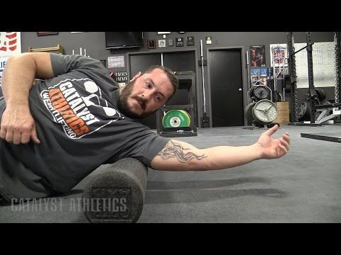 Pre-Workout Foam Rolling for Olympic Weightlifting by Greg Everett - Mobility & Training Preparation - Catalyst Athletics - Olympic Weightlifting
