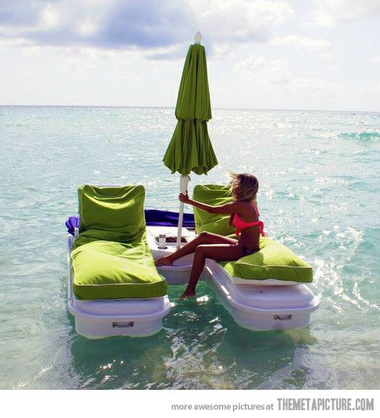 How to make your summer ten times better…: At The Beaches, Lounges Chairs, Idea, Chairs Cushions, The Ocean, Boats, The Lakes House, Summer Fun, Heavens