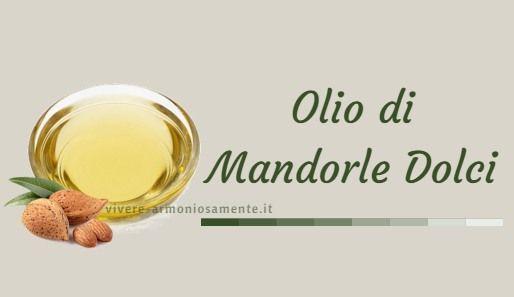 L'olio di mandorle dolci ha proprietà idratanti, emollienti ed elasticizzanti. Si usa per avere capelli lucidi e sulla pelle per prevenire le smagliature..