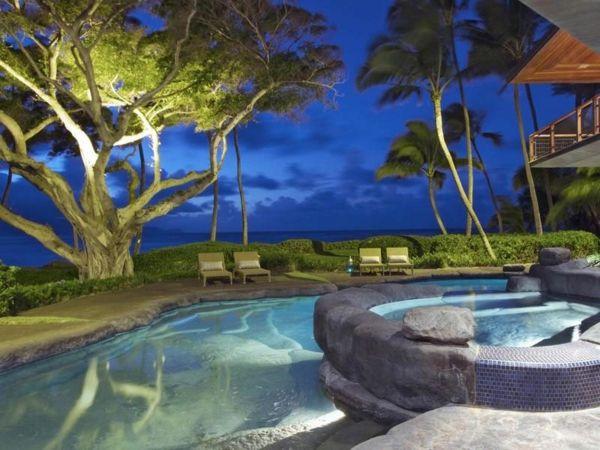 Residenz auf Hawaii mit einem sehr kreativen Design