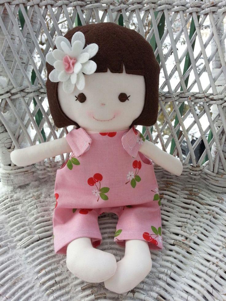 Handmade rag doll--my friend Sage www.facebook.com/dandelionwishesbymimi www.dandelionwishesmimi.etsy.com