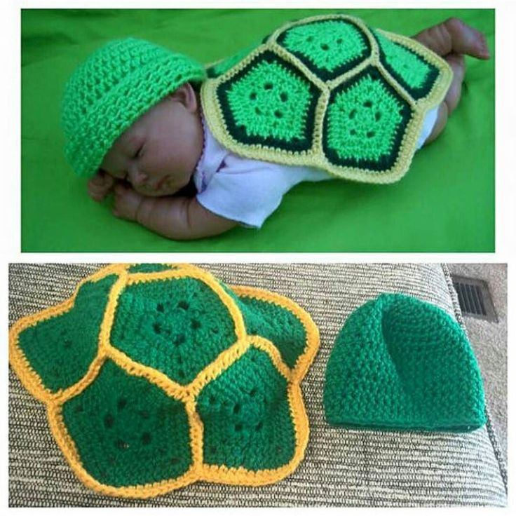 We can't get over how adorable this baby turtle photo prop from @anniesstitchnsew is - so perfect for your photo shoot! Shop these pieces and other crochet creations in her Etsy shop!  Shop: @anniesstitchnsew