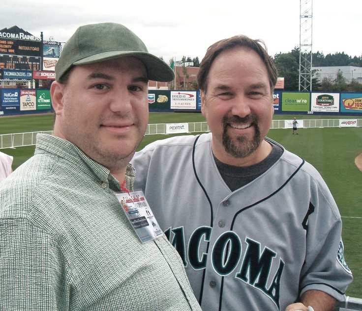 with Richard Karn