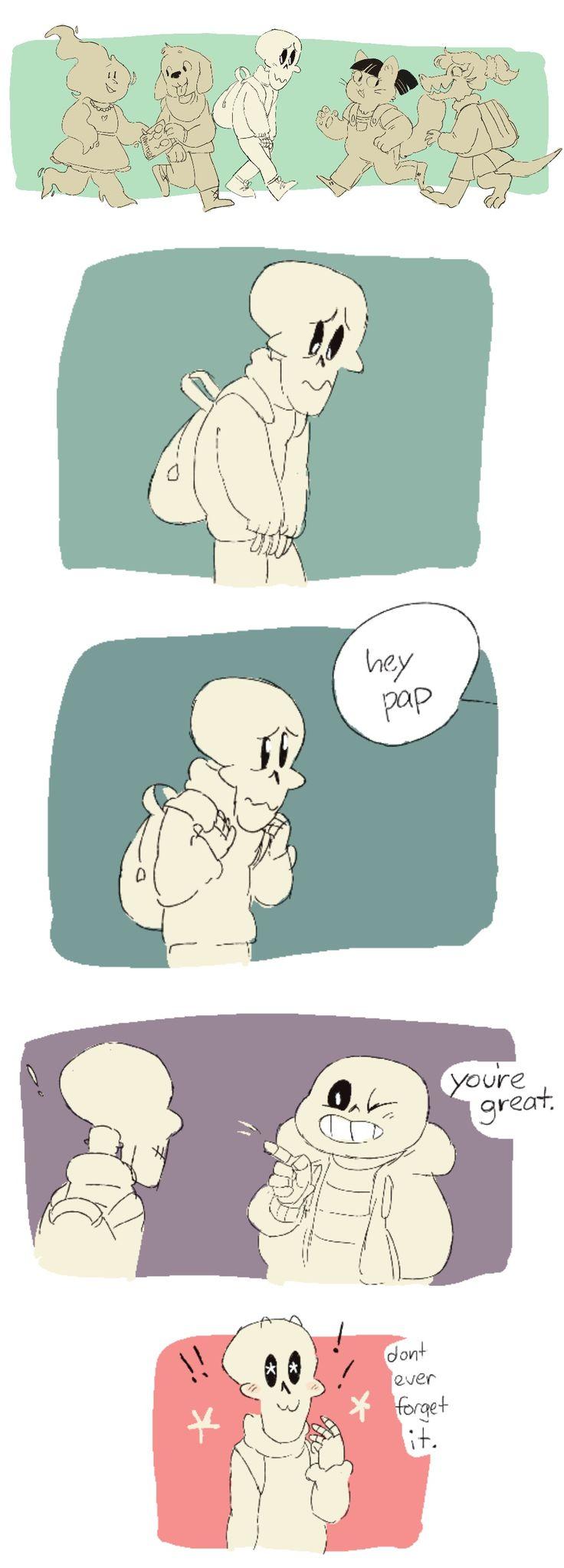 Papyrus and Sans - comic