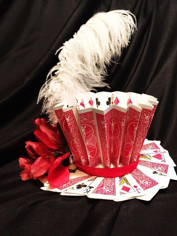 Playing Card Top Hat von PrismaticCostumes auf Etsy