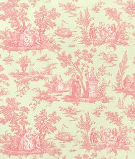 P. Kaufmann Dawson Passion Toile... I think this matches the duvet my sister gave me