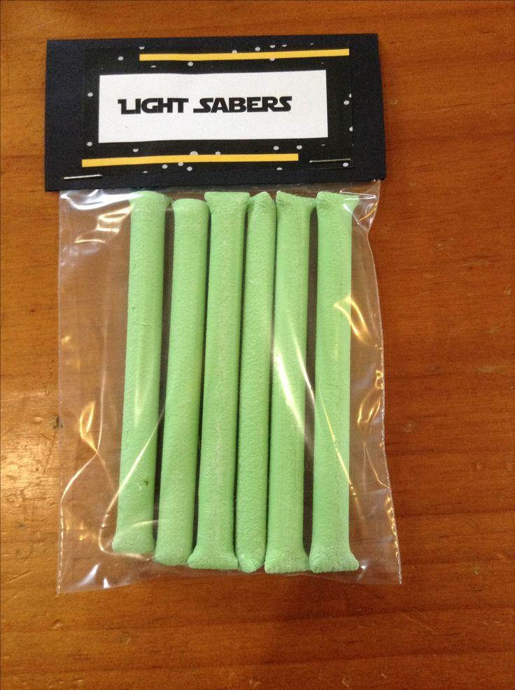 Jedi Light Sabers - Mint Sticks.