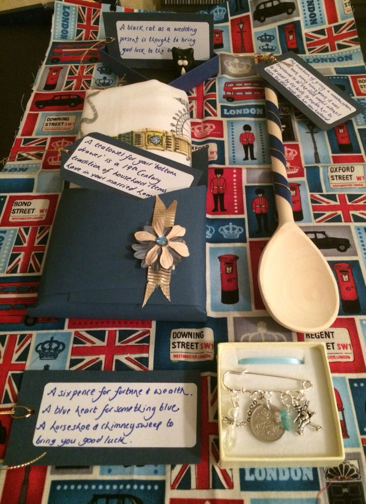 Traditional British Wedding Gifts For My Very First Nanny Job In America On The Front