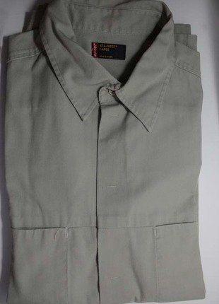 À vendre sur #vintedfrance ! http://www.vinted.fr/mode-hommes/chemises/28026042-tres-belle-chemise-homme-t-large-marque-levis-be