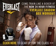 Everlast shadow box workout