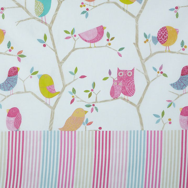 Buy Harlequin What A Hoot Pencil Pleat Blackout Lined Curtains, W165 x Drop 137cm Online at johnlewis.com