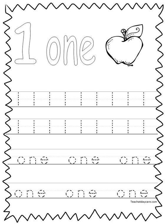 20 Printable Numbers 120 Tracing Worksheets Preschool