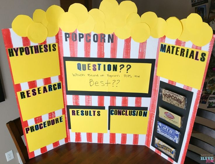 Good science fair projects to do at home
