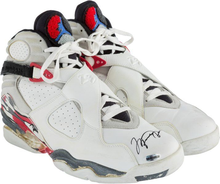 Other, 1992-93 Michael Jordan Game Worn & Signed Chicago BullsSneakers. The elite athletes of American sports history haveemerged...