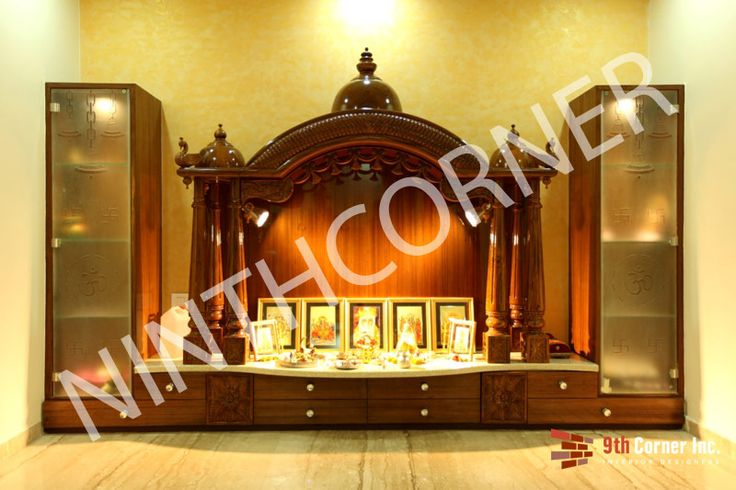 This Diwali Season Decoratre your Pooja Room and Mandir. See More Such Ideas at : http://www.ninthcorner.com