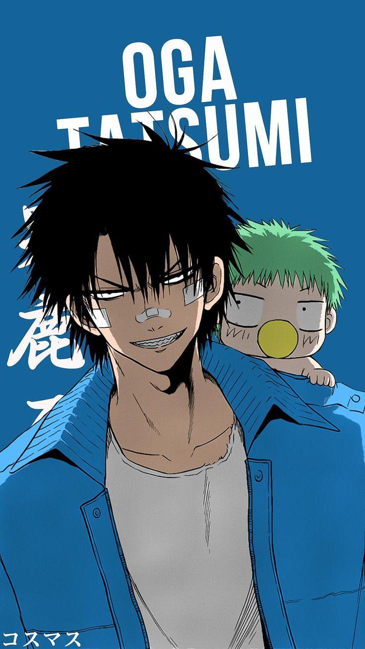 Oga Tatsumi ~ Korigengi | Wallpaper Anime