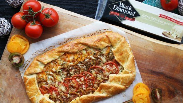 MasterChef Canada - Tomato galette with Black Diamond Extra Old Cheddar