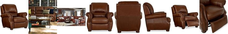 Royce Leather Recliner Chair