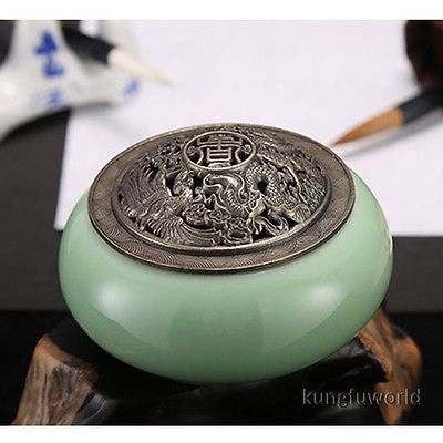 Beautiful Longquan Celadon Buddhist Incense Burner Porcelain Censer in Collectibles,Religion & Spirituality,Buddhism | eBay
