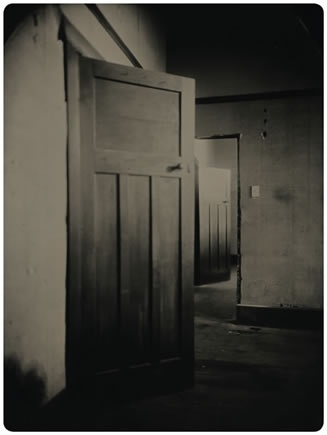 """""""The doors we open and close each day decide the lives we live."""" Flora Whittemore [photo: Ben Cauchi]"""