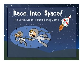 "This ""Race Into Space"" game about the Earth, moon, and sun features kid-friendly graphics and 48 different quiz cards matched to content standards from most states. Instructions are included. My students love playing this game and it gets them talking about the Earth, moon, concepts that are assessed."
