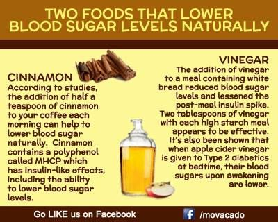 Two food that lower blood sugar levels naturally http://tmiky.com/pinterest
