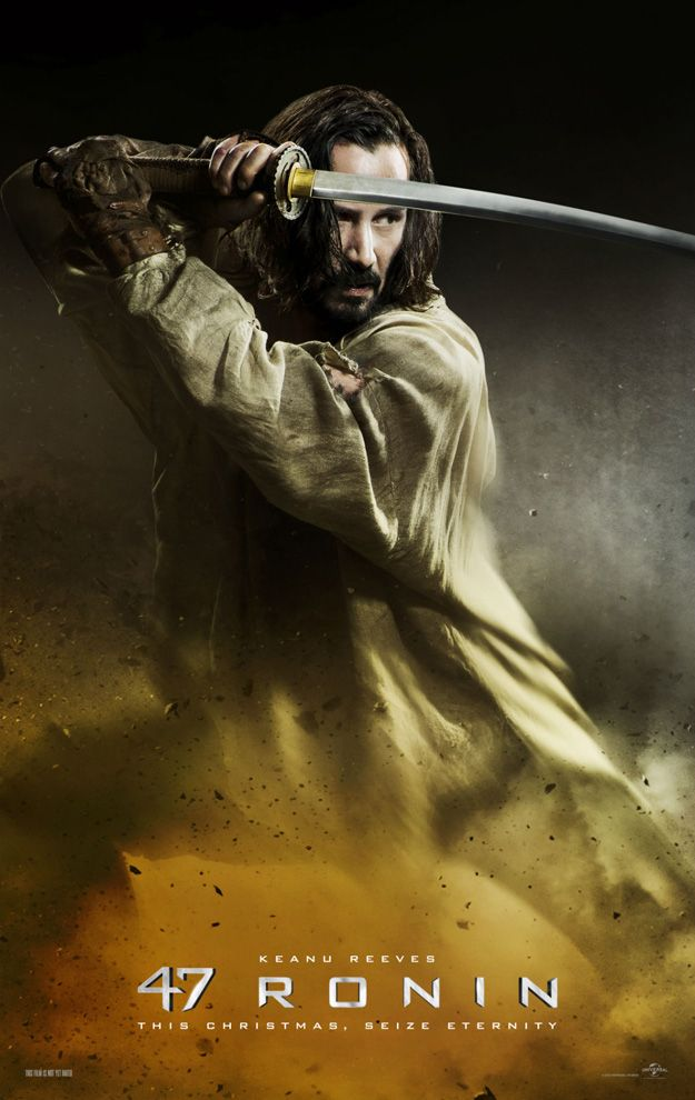 Four New Posters for Keanu Reeves' 47 RONIN — GeekTyrant