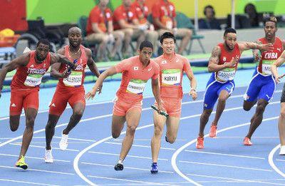 日本、400mリレー予選でアジア新…決勝へ #リオ五輪 #陸上