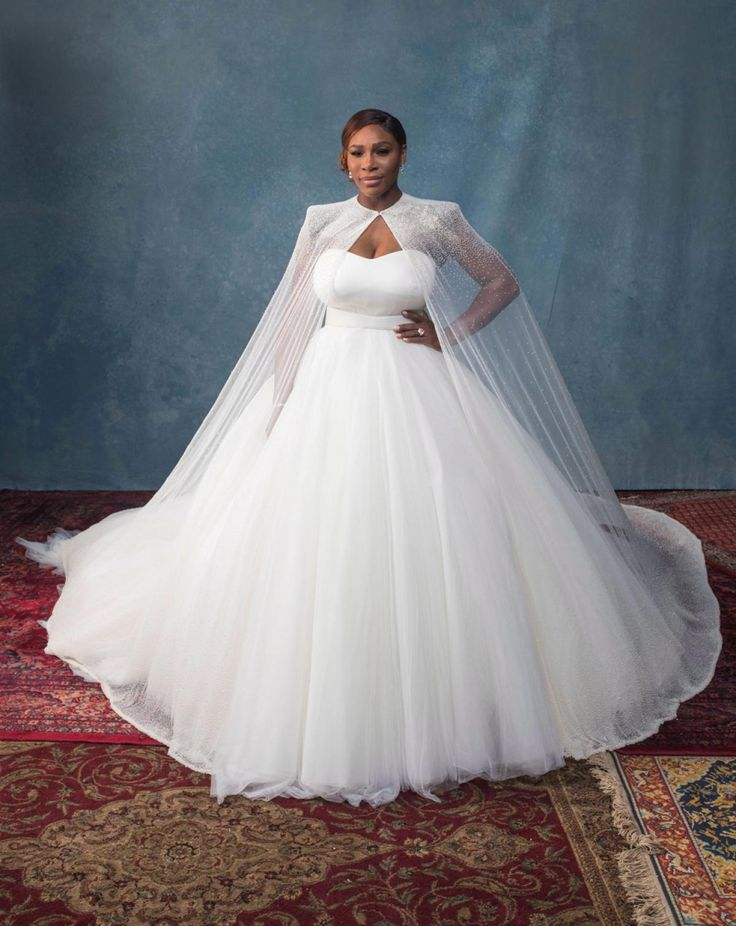 25 cute alexander mcqueen wedding dresses ideas on pinterest a closer look at serena williams sarah burton for alexander mcqueen wedding dress in junglespirit Image collections