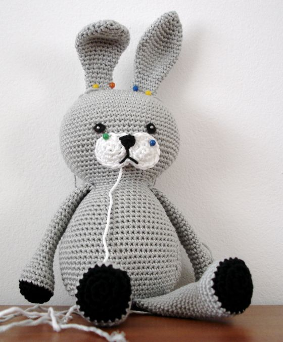 Amigurumi Bunny Head : 44 best images about Free Bunny Crochet Patterns on ...