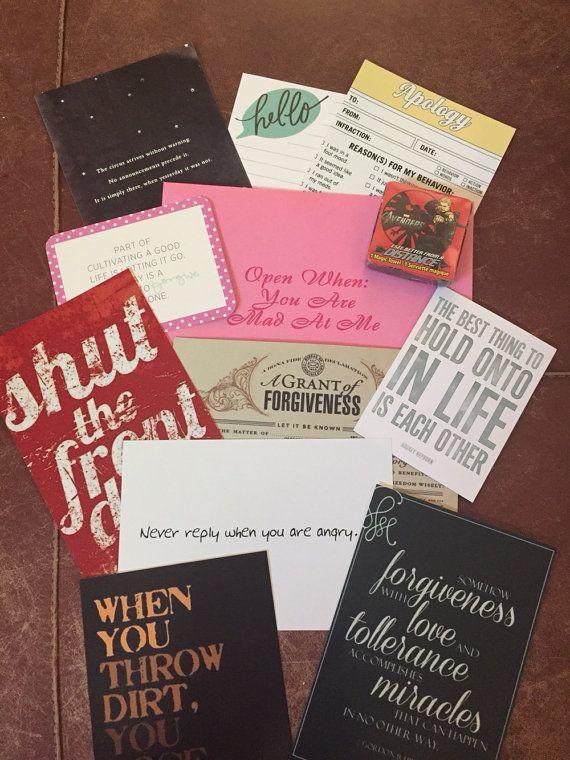 Open When letters, Best Friend, Gift 4 Boyfriend, For Husband, Wedding ...