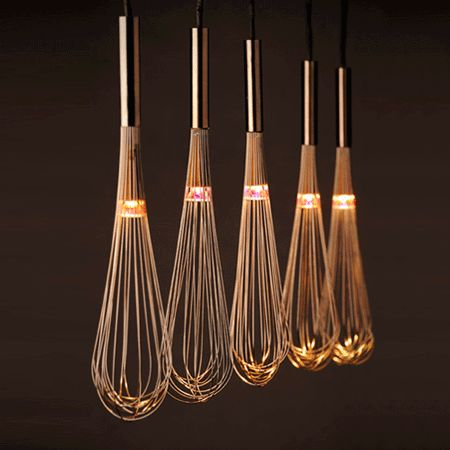 Home-Dzine - Pendant lamps using whisks