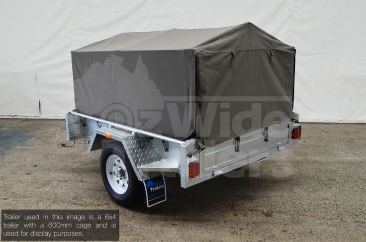 Heavy Duty Canvas Cover 6x4 900mm. Designed to suit our range of car trailers, please contact the team to see if it would be suitable for your trailer.