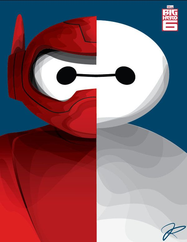 Baymax by juanpaotsin.deviantart.com on @DeviantArt