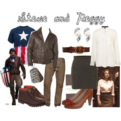 Characters: Steve Rogers and Peggy Carter Fandom: Marvel Film: Captain America Buy it here!