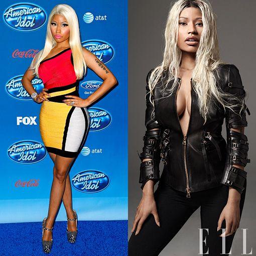 Nicki Minaj before vs. Nicki Minaj after. Come to our website to vote in the poll.