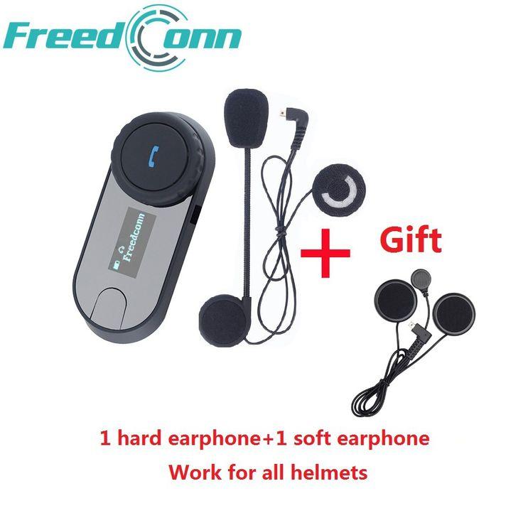 FreedConn Marca TCOM-SC Bluetooth Motocicleta Intercomunicador Intercomunicador Del Casco Auricular Pantalla LCD con <font><b>Radio</b></font> FM + Auricular Extra Suave #FreedConn, #Marca, #TCOM-SC, #Bluetooth, #Motocicleta, #Intercomunicador, #Casco, #Auricular, #Pantalla, #-font-b-Radio-b--font-, #Extra, #Suave