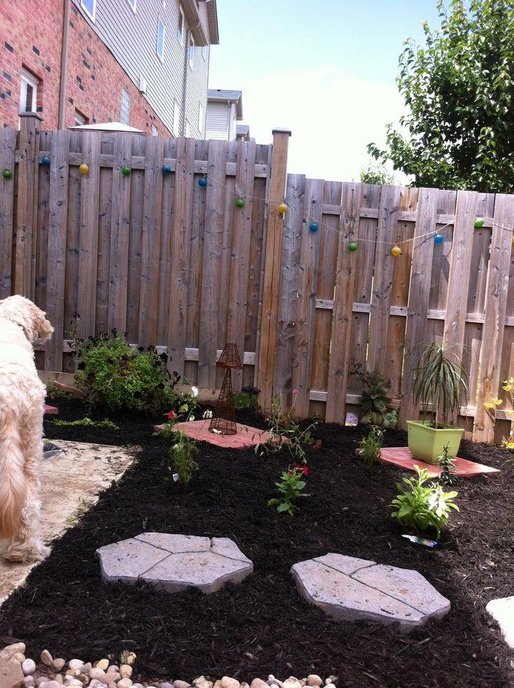 Redid my small backyard