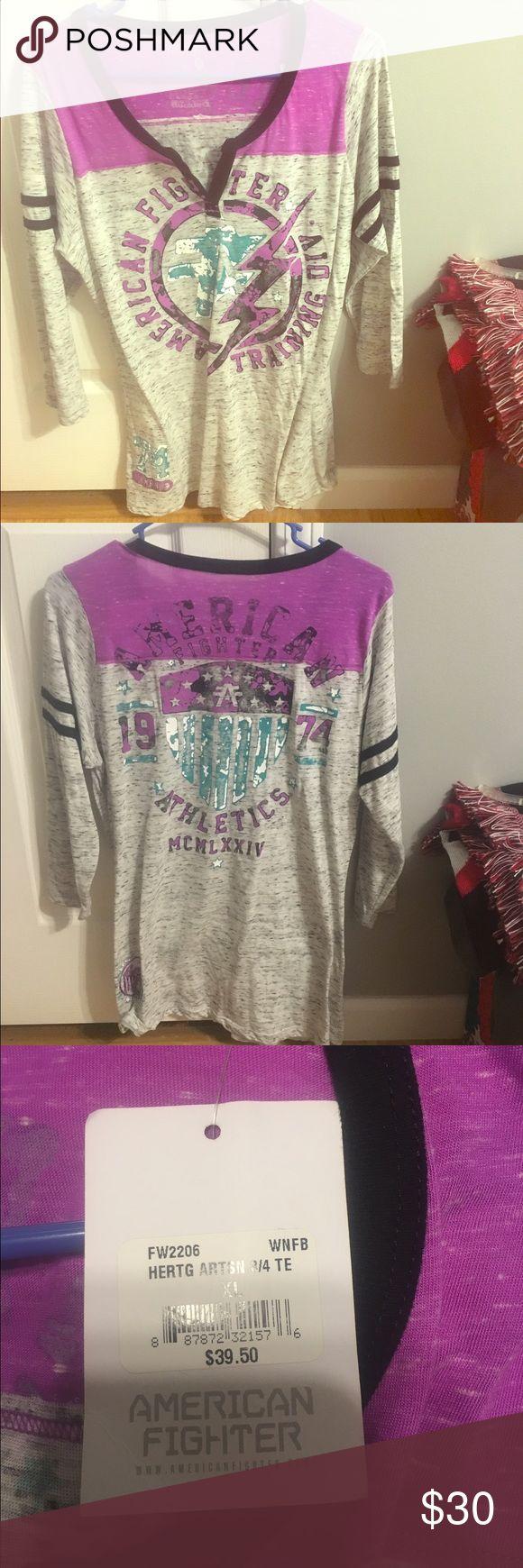 Spotted while shopping on Poshmark: Women's American Fighter shirt! #poshmark…