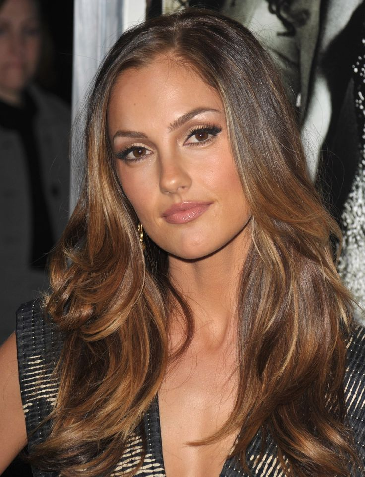 Minka Kelly - love the haircut and color