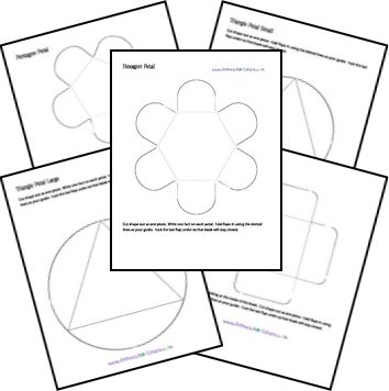 FREE Lapbook Templates from Homeschool Share! Can't wait to use these in my classroom!