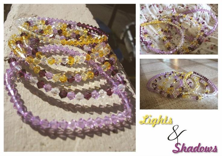 Swarovski elastic bracelets