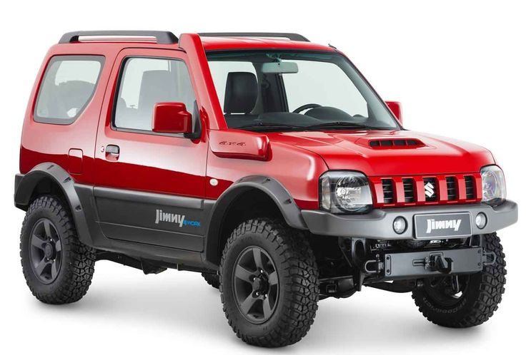 Modern Suzuki Jimny. This was known in the past as the Suzuki Samurai. #keicars