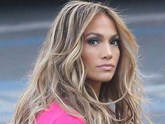 Highlights Hair Jennifer Lopez