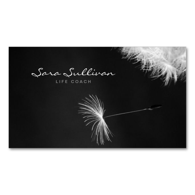 1477 best life coach business cards images on pinterest business life coach business card dandelion closeup colourmoves
