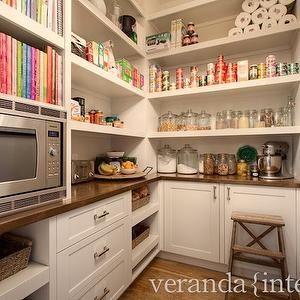 Veranda Interiors - kitchens - walk in pantry, pantry, pantry storage, pantry cabinets, pantry cabinetry, pantry shelves, pantry shelving, p...