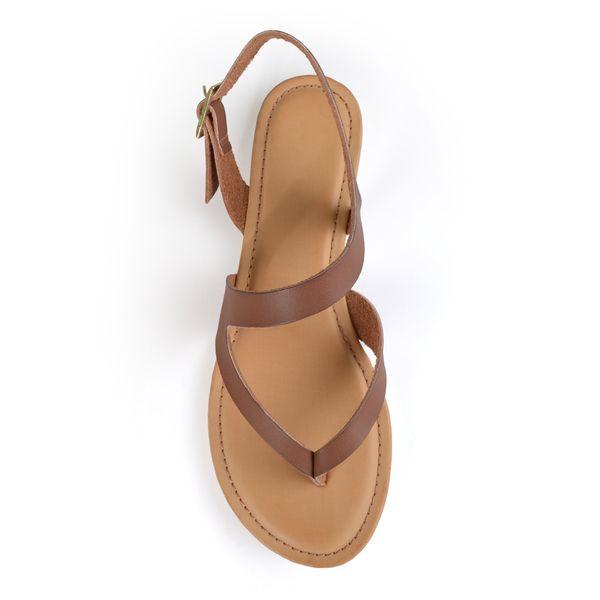 Journee Collection Women's 'Senna' Strappy Flat Sandals