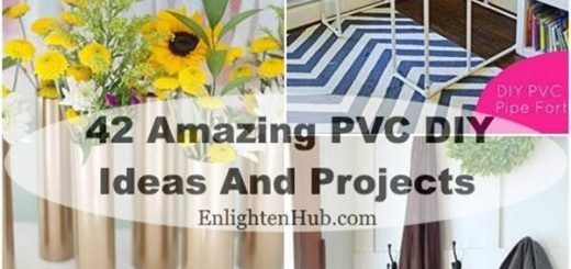 Amazing PVC DIY Ideas And Projects For Your Home and Garden Archives - Enlighten Hub